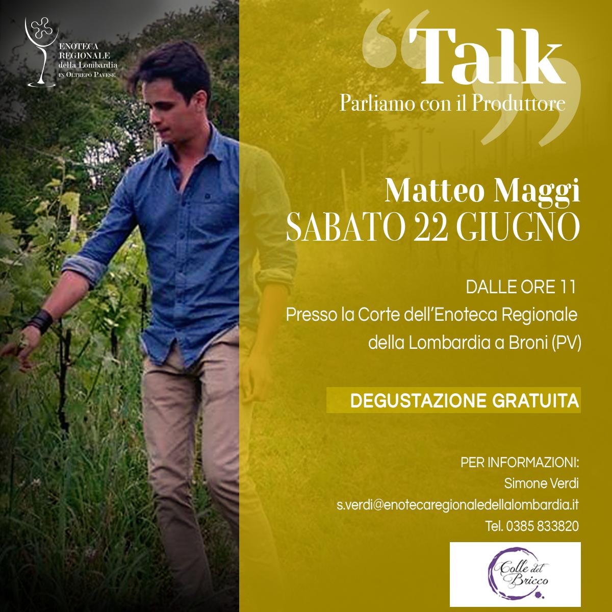 Talk - Parliamo col Produttore