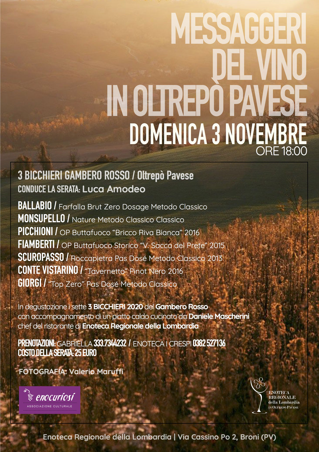 Messaggeri del vino in Oltrepò Pavese
